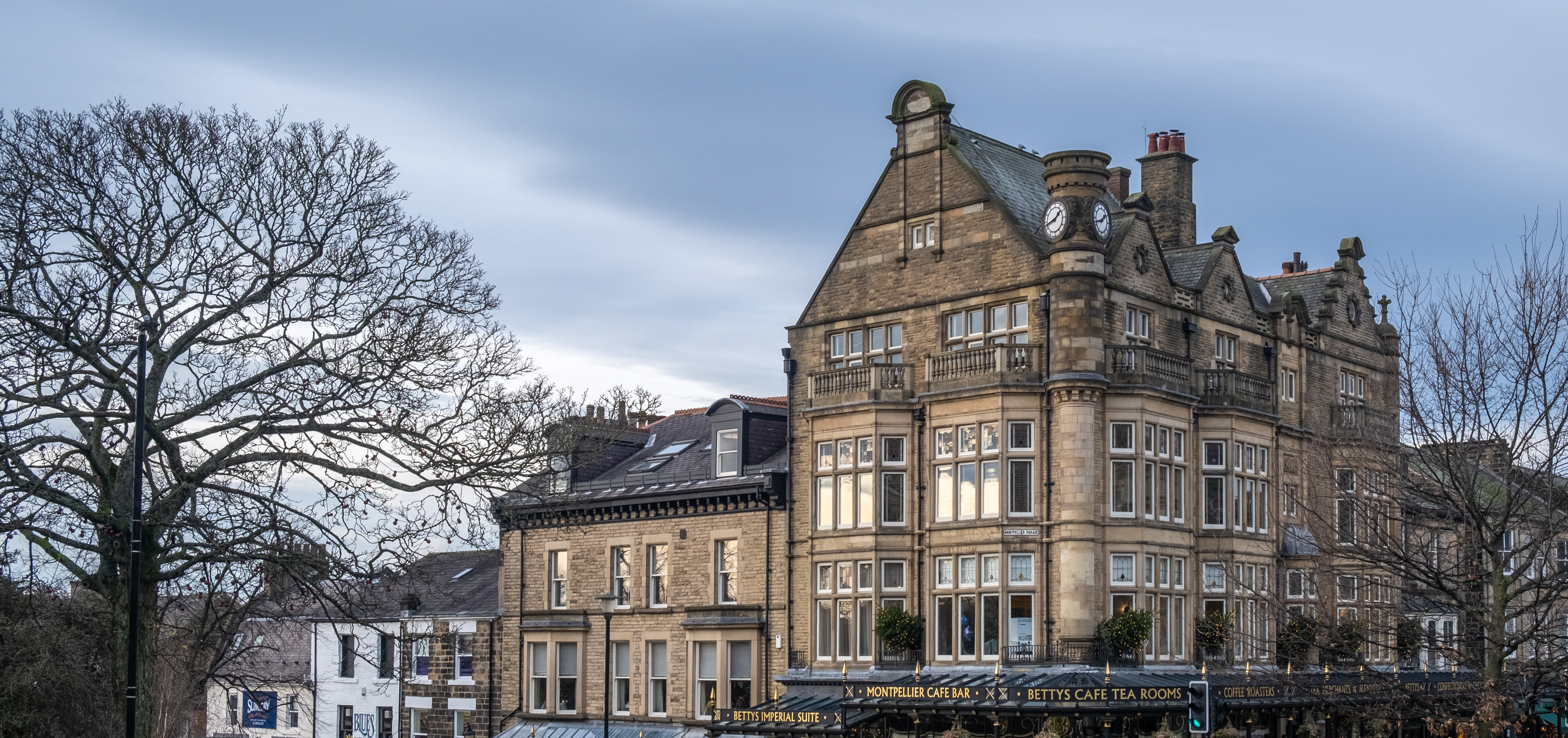 Winter Harrogate buildings 80 Bettys